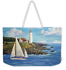 Northeast Coast Weekender Tote Bag