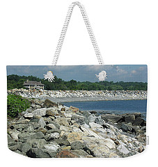 Northeast Us, Atlantic Coast, Rye Nh Weekender Tote Bag
