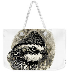 Northern Bobwhite Weekender Tote Bag