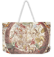 Northern Boreal Hemisphere, From The Celestial Atlas Weekender Tote Bag by Andreas Cellarius