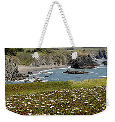 Northern California Coast Scene Weekender Tote Bag