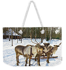 Northern Deers Weekender Tote Bag