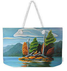 Northern Island Weekender Tote Bag