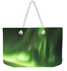 Weekender Tote Bag featuring the photograph Northern Lights 5 by Mariusz Czajkowski