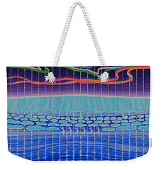 Northern Lights Ballet Production Weekender Tote Bag