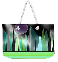 Northern Lights Weekender Tote Bag by Kathleen Sartoris