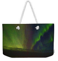 Northern Lights Or Auora Borealis Weekender Tote Bag