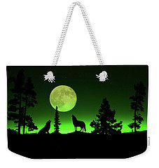 Weekender Tote Bag featuring the photograph Northern Lights by Shane Bechler