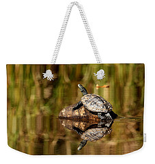 Northern Map Turtle Weekender Tote Bag
