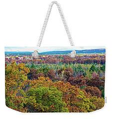 Northern Michigan Fall Weekender Tote Bag