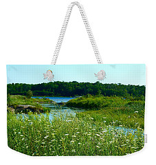 Northern Ontario 1 Weekender Tote Bag by Claire Bull
