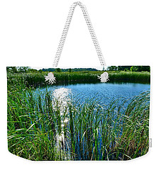 Northern Ontario 2 Weekender Tote Bag by Claire Bull