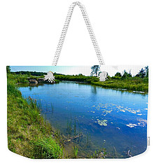 Northern Ontario 3 Weekender Tote Bag by Claire Bull