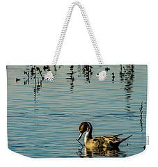 Northern Pintail At The Wetlands Weekender Tote Bag