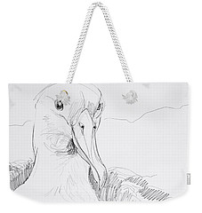 Northern Royal Albatross Weekender Tote Bag