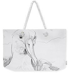 Northern Royal Albatross Weekender Tote Bag
