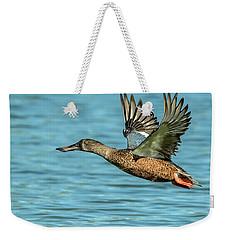 Northern Shoveler 6351-100217-2cr Weekender Tote Bag