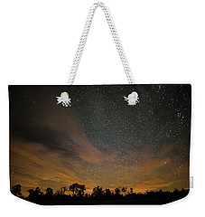 Northern Sky At Night Weekender Tote Bag by Phil Abrams