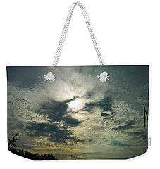 Northern Sky Weekender Tote Bag