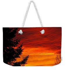 Northern Sunset 2 Weekender Tote Bag