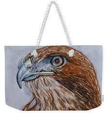 Northern Red Tailed Hawk Weekender Tote Bag by Kelly Mills