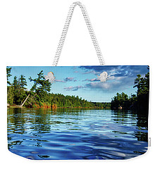 Northern Waters Weekender Tote Bag