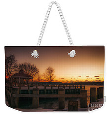 Northport Sunset Weekender Tote Bag