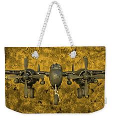 Northrop P-61 Black Widow Weekender Tote Bag by Michael Cleere