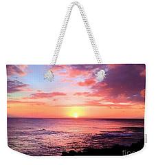 Northshore Sunset Weekender Tote Bag