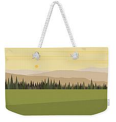 Northwest Escape Weekender Tote Bag