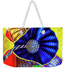 Northwest Glass 2 Weekender Tote Bag by Greg Sigrist