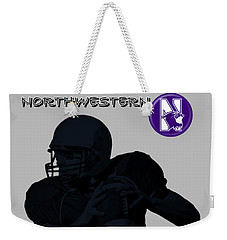 Northwestern Football Weekender Tote Bag
