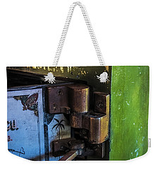 Weekender Tote Bag featuring the photograph Northwestern Safe by Paul Freidlund