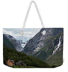 Norway Glacier Jostedalsbreen Weekender Tote Bag