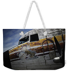 Nose Art Weekender Tote Bag by Michael Nowotny