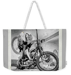 Weekender Tote Bag featuring the photograph Nostalgia- by JD Mims