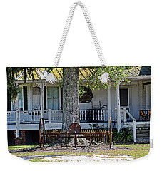 Weekender Tote Bag featuring the photograph Nostalgia by Linda Brown