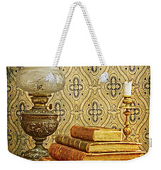 Weekender Tote Bag featuring the photograph Nostalgic Memories by Heiko Koehrer-Wagner