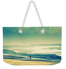 Nostalgic Oceanside Oregon Coast Weekender Tote Bag by Amyn Nasser