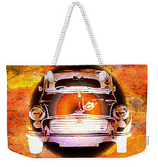 Nostalgic Travel Weekender Tote Bag