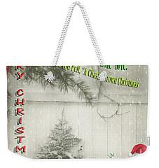Not A Bad Little Tree Weekender Tote Bag