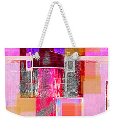 Not All In Heaven I Have Hated Weekender Tote Bag by Danica Radman