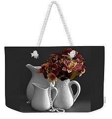 Not All Is Black And White Weekender Tote Bag