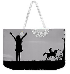 Not Alone Weekender Tote Bag