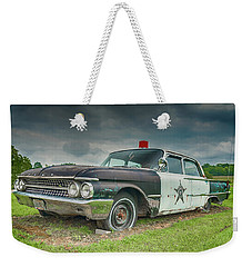 Weekender Tote Bag featuring the photograph Not Chasin' Anyone by Guy Whiteley