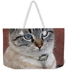 Not Impressed  Weekender Tote Bag by Kim Henderson