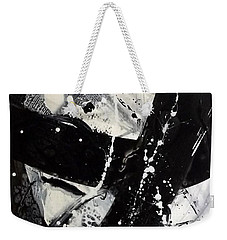 Not Just Black And White3 Weekender Tote Bag