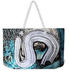 Not My President Weekender Tote Bag by Polly Castor
