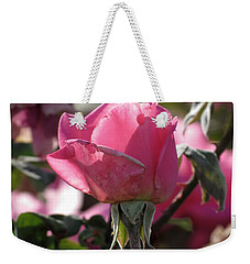Weekender Tote Bag featuring the photograph Not Perfect But Special by Laurel Powell