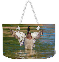 Not Quite An Angel Weekender Tote Bag